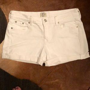 White Denim JCrew Shorts